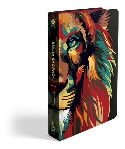 Bíblia Sagrada Nvt Nova Versão Transformada Leão Capa Dura