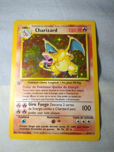 Cartas Primera Edición Pokémon Tcg Charizard Blastoise Venas