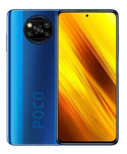Celular Xiaomi Poco X3 Pro Azul 6/128gb Global Lacrado