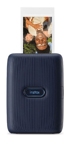 Impressora Fujifilm Instax Mini Link Smartphone Azul Dark De