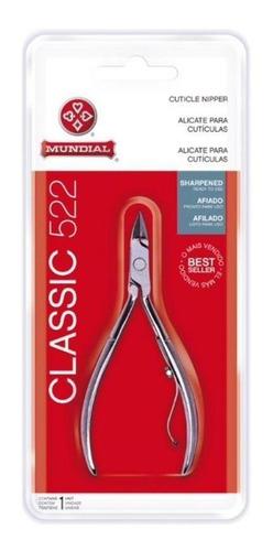 Alicate De Cuticula Profissional 522 Classic Afiado Mundial