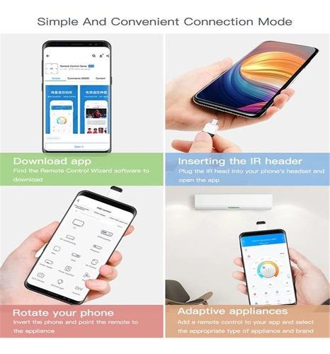 Control Remoto Infrarrojo Interfaz Android,micro Usb