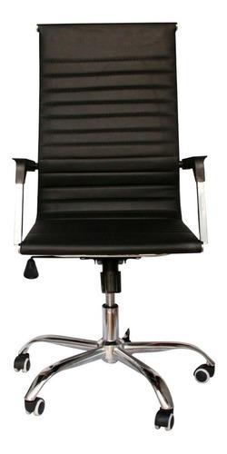 Cadeira Escritório Executiva Couro Sintético Presidente 360º