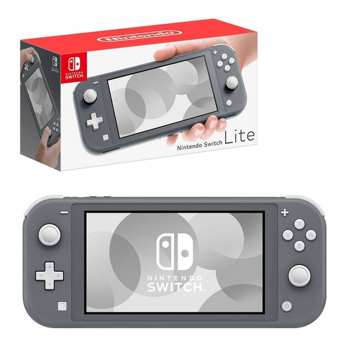 Nintendo Switch Lite 32gb Colorido Azul / Amarelo / Cinza