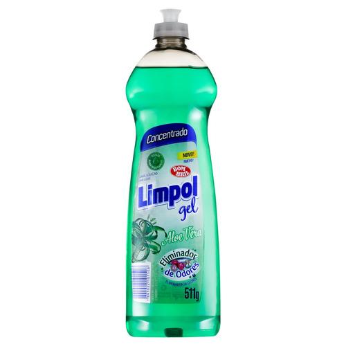 Detergente Limpol Aloe Vera Em Gel Em Squeeze 511g