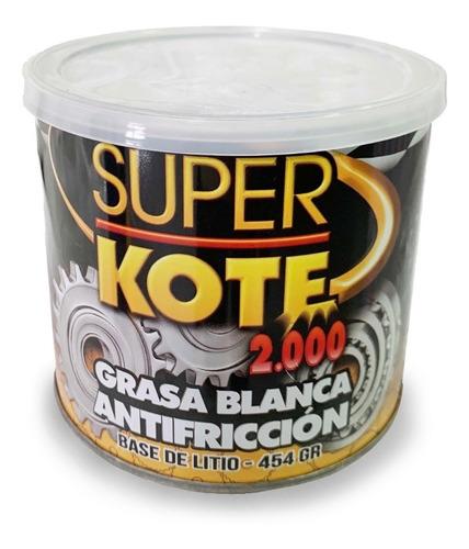 Superkote 2000 Grasa Blanca Complejo De Litio 450gr