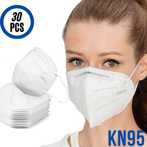 Kit 30 Mascaras Proteção Reutilizável Kn95 Ffp2 Promoção