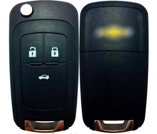 Carcaça Chave Canivete Oca Chevrolet Cobalt Cruze Onix Prisma Sonic Spin Tracker 2012 2013 2014 2015 2016 2017 2018 2019
