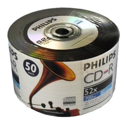 50 Midias - Cd-r Phillips Vinil - Raridade
