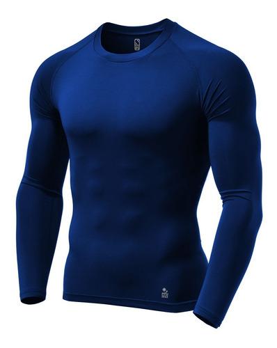 3 Camisas De Compressão Térmica Stigli Pro Proteção Fpu 50+