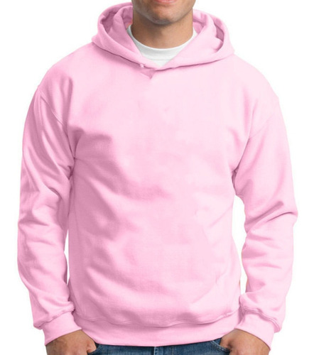 Moletom Canguru Masculino Feminino Blusa De Frio Lisa