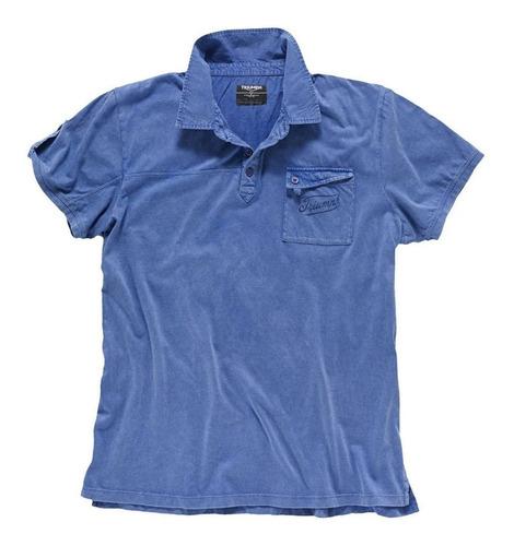 Camisa Triumph Oficial Polo Denim
