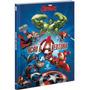 Livro De Leitura Ação E Aventura Marvel Vingadores