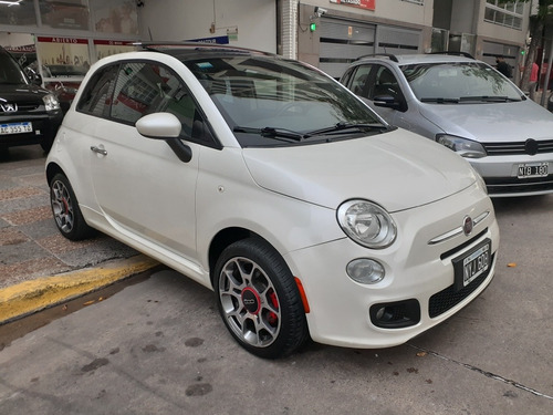 Fiat 500 1.4 Sport 105cv 2014 Blanco Pocos Kilómetros Nuevo