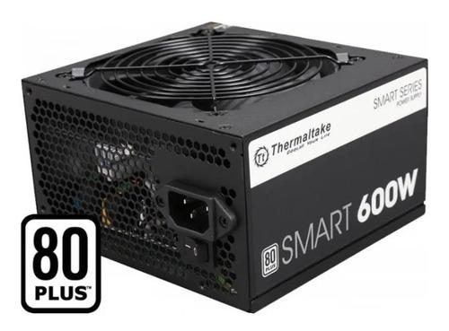 Fuente Atx Tt Thermaltake Smart 600w 80 Plus White Pc Begui