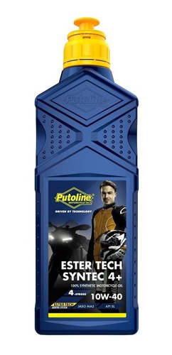 Aceite 100% Sintético Putoline Ester Tech Syntec 10w40 - Brm