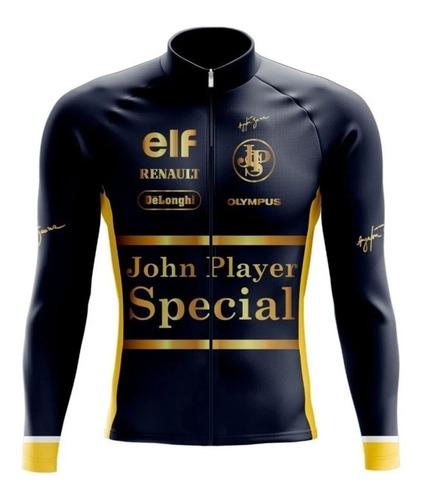 Camisa Ciclismo Ayrton Senna Special *manga Longa*