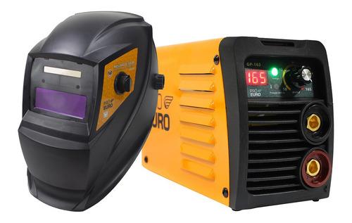Máquina Inversora 165a Bivolt 110/220v + Máscara Solda Tig