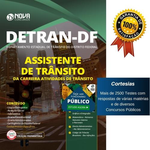 Apostila Concurso Detran Df Assistente Trânsito Carreira