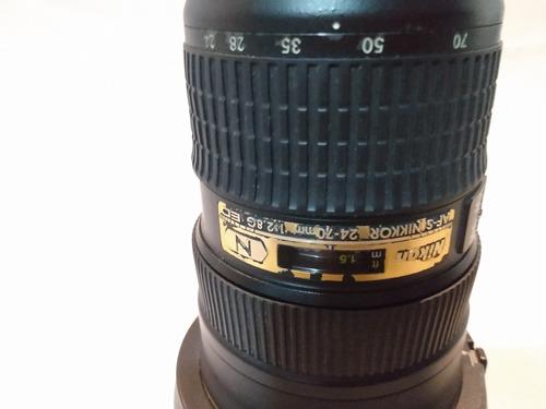 Lente 24-70 Nikon 2.8 - Para Vender Logo