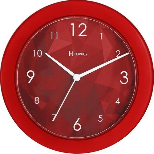 Promoção Relógio De Parede Herweg 6678 Original Nota Fiscal