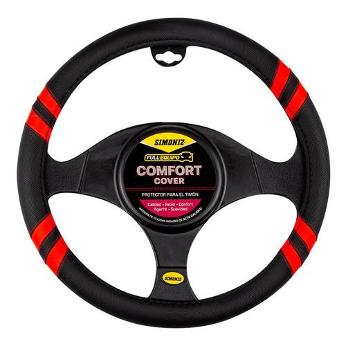 Cubre Timón Comfort Cover Racing Rojo Simoniz Full Equipo