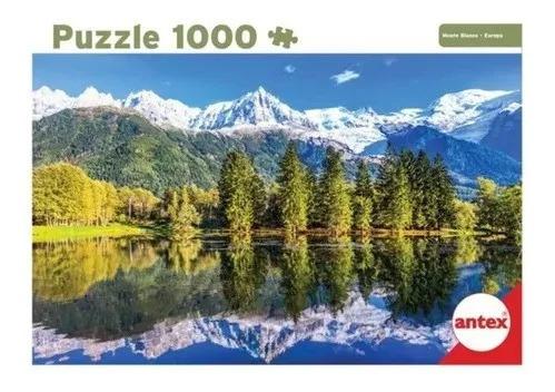 Puzzle 1000 Pz Mont Blanc Cuotas