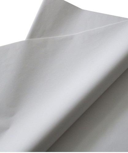 Papel De Seda 30x70 Branco Alvejado - 100 Folhas - Promoção!