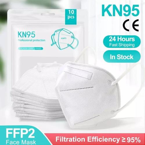 Máscaras Kn95 Proteção 5 Camada Meltblown Ffp2 Reutilizável