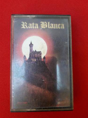 Cassette De Rata Blanca Primer Álbum Año 1988