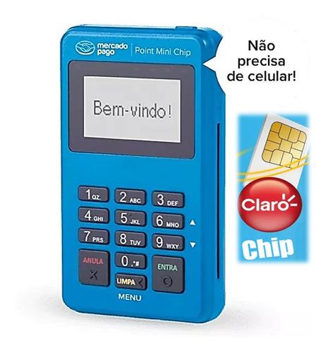 Máquina Mini Chip Máquina Cartão Mercado Pago Frete Grátis