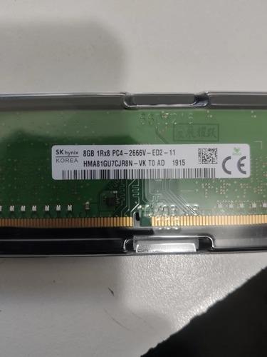 Memoria 8gb 1rx8 Pc4-2666v-e St50 Ts150 T130 T140 T330 Dl20