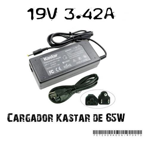 Cargador Marca Kastar Para Laptops Acer Aspire 19v Con Cable