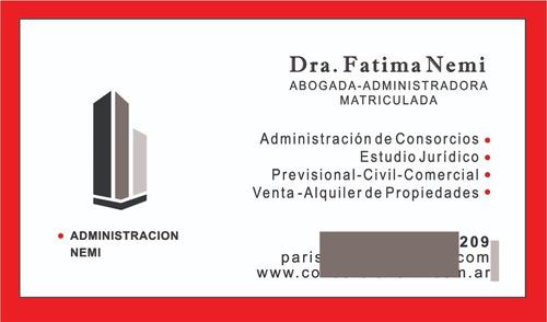 Administracion De Consorcios Edificio Cocheras Flores Caba