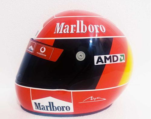 Capacete Bell Xmf1 (michael Schumacher)