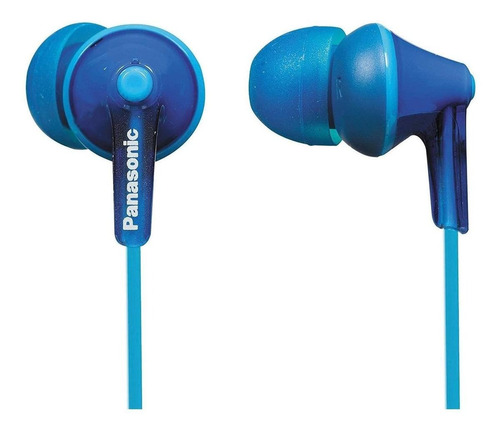 Audífonos In-ear Panasonic Ergofit Rp-hje125 Azul