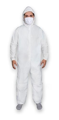Macacão De Proteção Químico Com Capuz Pvc Impermeabilizante