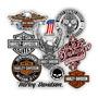 Kit De Adesivos Harley Davidson   21 Peças