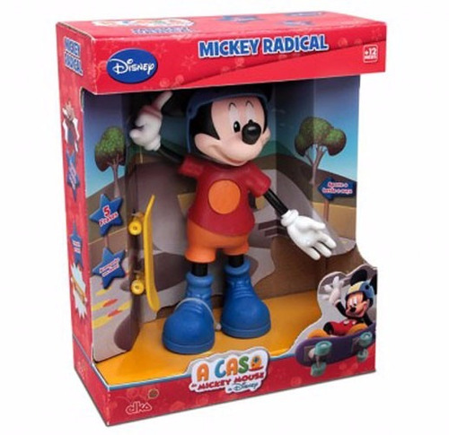 Boneco Mickey Radical - Disney Original