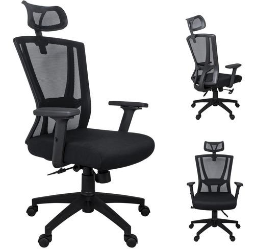 Cadeira De Escritório Presidente Giratória Tela Mesh Lbn-p13