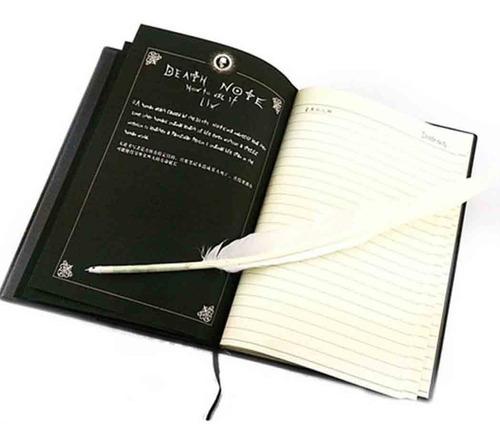 Libreta Death Note + Lapicera Pluma