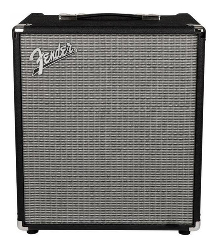 Amplificador Fender Rumble 100 Combo Transistor 100w Negro Y Plata 220v