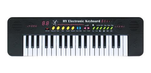 Teclado Piano Para Iniciante Infantil Musical Com 37 Teclas