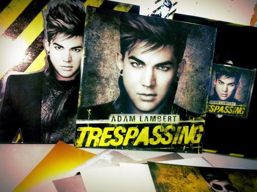 Adam Lambert (box-set) 'trespassing' Disco De Vinilo Nuevo