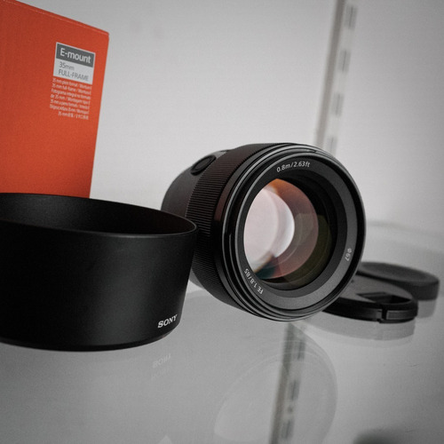 (nova) Lente Sony Fe 85mm F/1.8 Full Frame