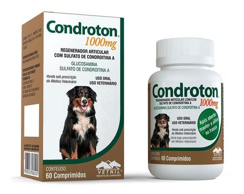 Condroton 1000 Mg 60 Comprimidos - Vetnil