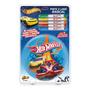 Livrinho Infantil Hot Wheels Pinte E Lave Radical Fun F00165