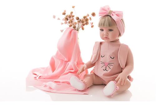 Bebê Reborn - Banho De Sol - Corpo 100% Silicone Meu Xodo