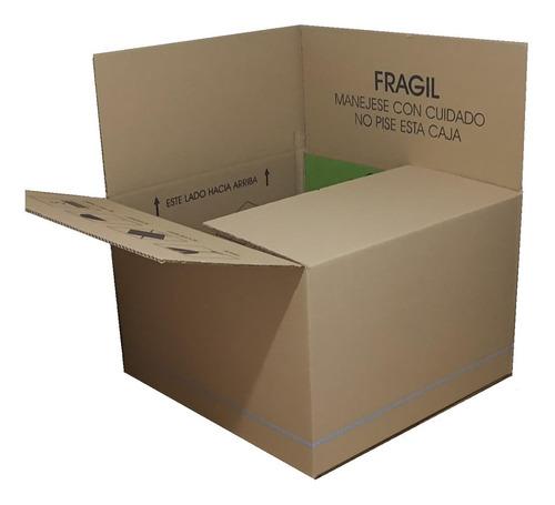 20 Pz Cajas De Cartón 54x50x35cm Nueva Saldo Mudanza Envíos