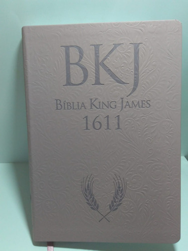 Bíblia King James Fiel 1611 Ultrafina Ampliada